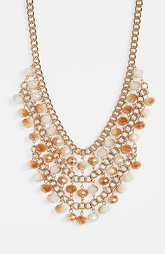 Cara Bib Necklace available at #Nordstrom