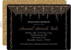 Formal Glam Corporate Event Invitation