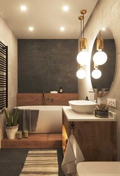 15 Modern design for the renovation of bathroom decorations 15 Modernes Design für die Renovierung der Baddekoration – DifferentDifferent 15 Modern design for the renovation of bathroom decorations – DifferentDifferent - Home Design, Home Interior Design, Modern Interior, Design Ideas, Design Trends, Design Design, Bath Design, Design Bathroom, Modern Luxury