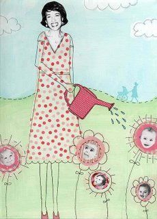 claudine hellmuth's blog: retro * whimsical art and illustration