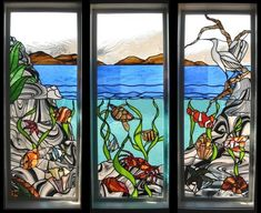 Stained Glass Ocean Patterns | Stained Glass