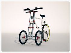 The Trego Dolly Greatly Increases Your Bicycles Carrying Ability Bicycle Sidecar, Trike Motorcycle, Three Wheel Bicycle, Best Electric Bikes, Electric Tricycle, Bicycle Painting, Reverse Trike, Cargo Bike, Bicycle Design