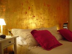 Dipingere Parete Dietro Il Letto : Fantastiche immagini su parete dietro il letto house