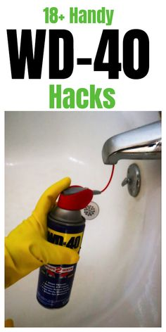 wd 40 uses cleaning \ wd 40 uses + wd 40 uses cleaning + wd 40 uses hacks + wd 40 uses cars + wd 40 uses shower doors + wd 40 uses stains + wd 40 uses cleaning car + wd 40 uses did you know Household Cleaning Tips, House Cleaning Tips, Diy Cleaning Products, Deep Cleaning, Spring Cleaning, Cleaning Hacks, Cleaning Recipes, Cleaning Supplies, Cleaning Schedules