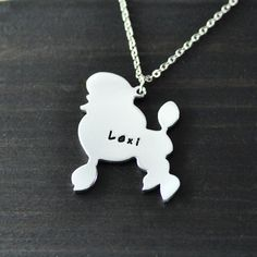Find More Pendant Necklaces Information about Standard Poodle necklace Standard Poodle pendant  alloy  dog pendant  creature necklace a good gift beautiful charm,High Quality charms gold,China charm necklace sterling silver Suppliers, Cheap pendant claw from Handmade Love Jewelry on Aliexpress.com