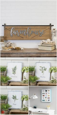 Shop Target for wall Decor, Farmhouse Kitchen Decor, Farmhouse Decor, Farmhouse Diy, Spring Decor, Rustic Decor, Home Decor, Diy Farmhouse Decor, Wall Signs