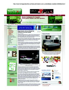 """Featured on HomeGoodsOnline.ca!!     """"Octaspring is billed as the latest generation of foam mattress- combining the advantages of the inner spring/pocket coil with those inherent in foam."""""""