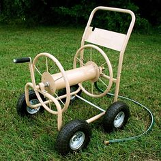 Liberty Garden 300 ft Capacity 4 Wheel Hose Reel Cart