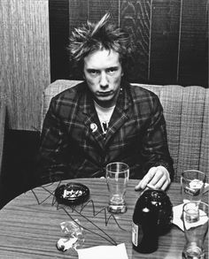 Johnny Rotten (John Lydon). showcasing a great example of someone who did not…
