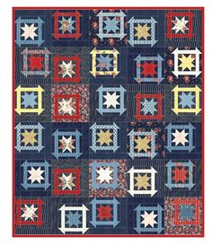 Red, White, and Quilt « Moda Bake Shop