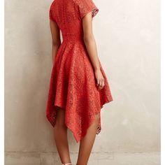 6a70cfc3b37 Anthropologie Dresses & Skirts - Anthropologie Prima Lace Dress, sz 8 Knee  Length Shorts,
