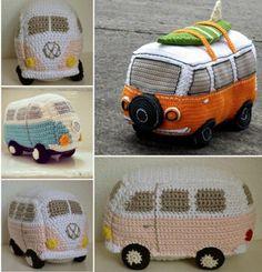 Die schönsten Bastelideen, inspiriert vom berühmten Volkswagen Bus! - DIY Bastelideen