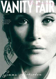 Gemma Arterton for Vanity Fair on Jewellery August 2013