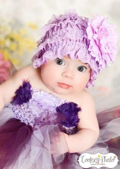 Newborn - Size 8 Shades of Purple Tutu Dress (Add 8.00 listing to cart with this for 6-8 year size). $35.00, via Etsy.