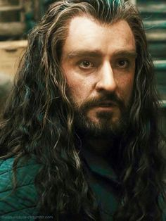 Previous pinner said: I can't with Thorin's moe eyes sometimes.