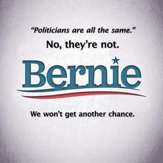Bernie Sanders is for the PEOPLE! #Bernie2016 #FeelTheBern
