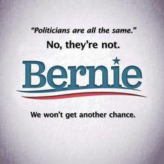#FeelTheBern! #BernieOrBust