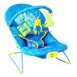 Point Shopping - Cadeirinha de Descanso Bouncer Musical Azul 33106 - Mastela