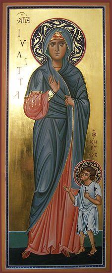 St. Julitta & St. Kyriakos by Ivan Polverari