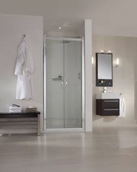 New recess shower enclosure solution from Aqata