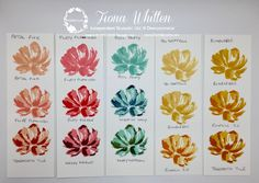 Two-Step Stamping with the new Art Gallery stamp set Homemade Birthday Cards, Homemade Cards, Art Floral, Stampin Up Catalog, Collor, Stamping Up Cards, Christmas Cards To Make, Card Tutorials, Watercolor Cards