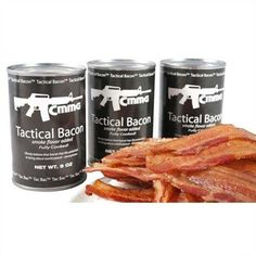 CMMG  TACTICAL BACON  2 x 9 oz Cans  18oz Total >>> See this great product.(This is an Amazon affiliate link)