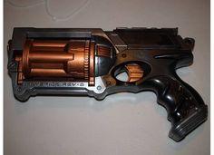 Steampunk nerf gun mod