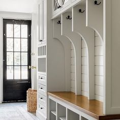 Smart Mudroom Ideas to Enhance Your Home MUDROOM IDEAS The mudroom is a very crucial part of your house. Mudroom allows you to keep your entire home clean and tidy. Mud room or you can call House Design, Room, Mudroom, Mudroom Decor, House, Interior, Home, Mudroom Design, House Interior