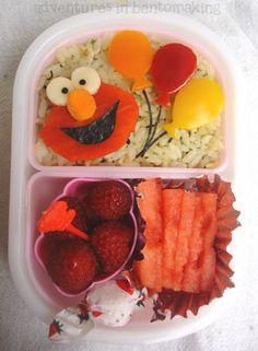elmo #bento #kids #lunch