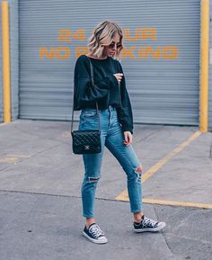 WEBSTA @ liangalliard - Sweats, jeans and sneaks, my go-to outfit What are your go-to items?