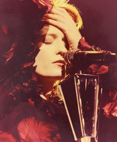 """""""During the songs, you transcend yourself. The best way to be in the performance is to be without pause and be essentially in the moment, in that moment of expression."""" -Florence Welch"""