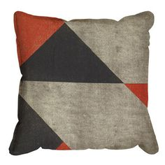 inspiration: geo pillow cover