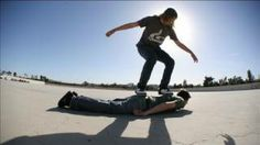 Human Skateboard by PES, via YouTube.