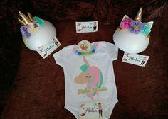Unicornio Mamelucos personalizados Abilia shopping