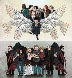 We're sort of missing a few Angels and Demons because we're already a lot…
