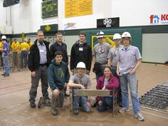 At the ASCE Northwest Regional Conference's Student Steel Bridge Competition at University of Alaska, Anchorage, representing Portland State University and ITS Tactical (patch is on my right shoulder, I'm on the far left of the picture which was my right). - Aaron S.