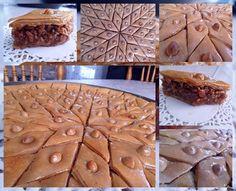 baklawa, gateau algerien  http://www.amourdecuisine.fr/article-baklawa-baqlawa-aux-amandes-et-cacahuettes-61018034.html