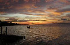 @anaderodriguez: El atardecer más bello que han visto mis ojos en el Golfo de Cariaco-Venezuela #SoyReporteroTeleSur