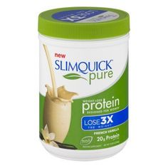 Slimquick Pure Weight Loss Protein For Women French Vanilla Protein Supplement, 10.58 OZ, Multicolor