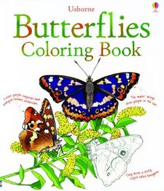Butterflies Coloring Book (Coloring Books) by Megan Cullis