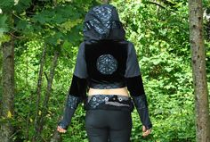 Sacred Geometry Hoodie Seed of Life by IntergalacticApparel