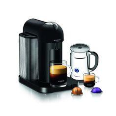 Nespresso VertuoLine Coffee and Espresso Maker with Aeroccino Plus Milk Frother