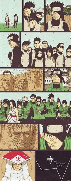 NARUTO SHIPPUDEN, Uchiha Obito A different life; a different path.  https://www.pinterest.com/pin/574912708659516949/ Kakashi Hatake, Naruto Uzumaki, Naruto Art, Kakashi And Obito, Gaara, Sasuke, Anime Naruto, Hinata, Anime Manga