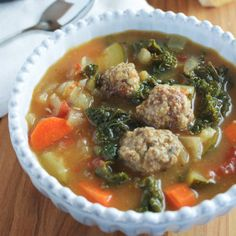 Looking for Fast & Easy Appetizer Recipes, Beef Recipes, Soup Recipes! Recipechart has over 5,000 free recipes for you to browse. Find more recipes like Tuscan Vegetable Soup with Mini Meatballs.