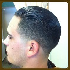 Haircut by @ron_talley #staygoldbarbershop #suavecitopomade #slickback