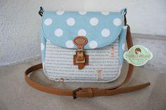 Hothot Ginger ♥ Unique Handmade Zakka: Country Life Sling Bag - 22x22x11cm