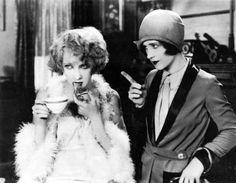 "Carmel Myers & Norma Shearer ""The Demi Bride"" (1927)"