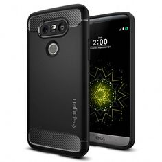 Equip your LG in the boldly redesigned Spigen Rugged Armor™ case for a  sleek and solid experience. Comprised of single-layer matte TPU 2497f203eb6c1