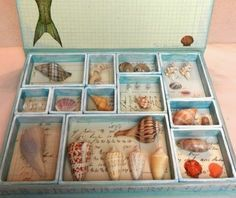 Sanibel Island Sea Shell Crafts. What people create with the shells they find on Sanibel's beaches: http://www.completely-coastal.com/2014/10/sanibel-island-shell-crafts.html