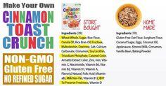 Homemade Cinnamon Toast Crunch Cereal (Non-GMO, Gluten Free)